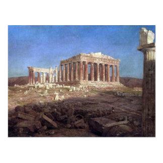 Frederic Edwin Church - The Parthenon Postcard