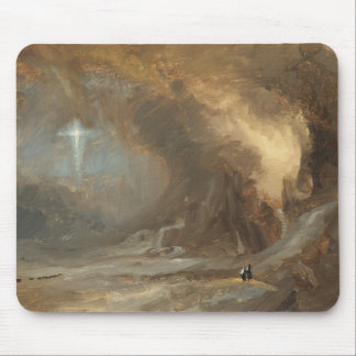 Frederic Edwin Church - Vision of the Cross Mouse Pad