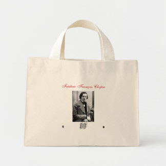 FREDERIC FRANCOIS CHOPIN MINI TOTE BAG