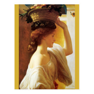 Frederic Leighton Basket of fruit CC0674 Postcard