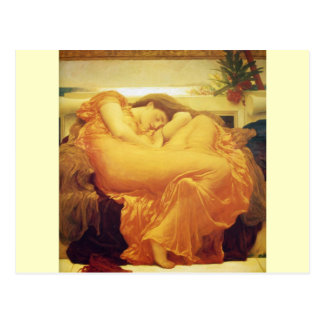 "Frederic Leighton, ""Flaming June"" Postcard"