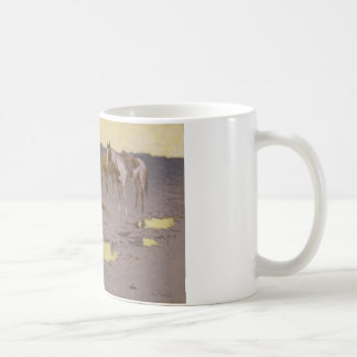 Frederic Remington - A New Year on the Cimarron Coffee Mug