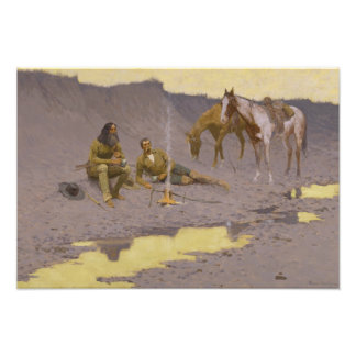 Frederic Remington - A New Year on the Cimarron Photograph
