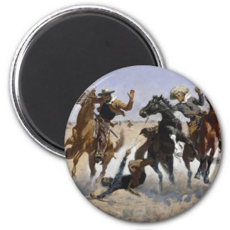 Frederic Remington Art Magnet