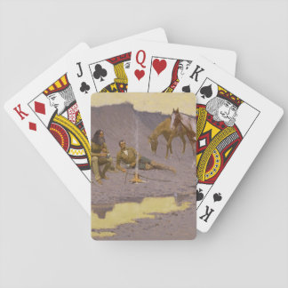 "Frederic Remington Art ""New Year On The Cimarron"" Playing Cards"