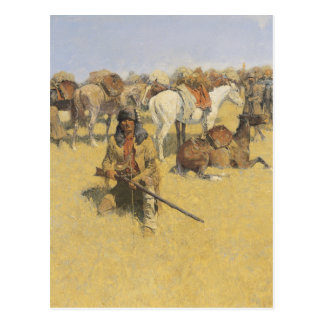 Frederic Remington Art Postcard