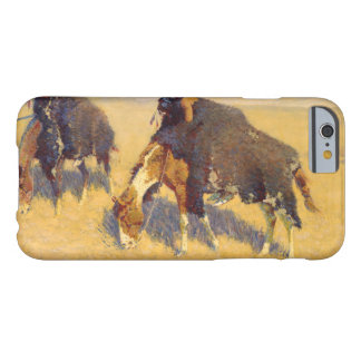 Frederic Remington - Indians Simulating Buffalo Barely There iPhone 6 Case