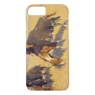 Frederic Remington - Indians Simulating Buffalo iPhone 7 Case