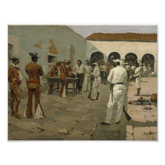 Frederic Remington - The Mier Expedition Photo Art