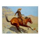 Frederic Remington's The Cowboy (1902) Postcard