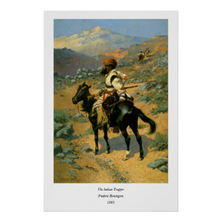 Frederic Remington's The Indian Trapper (1889) Poster