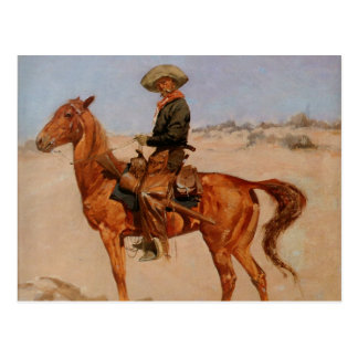 Frederic Remington's The Puncher (1895) Postcard