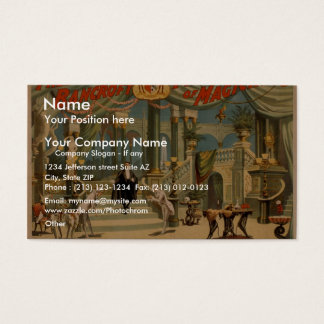 Frederick Bancroft, 'The Magician's Palace' Business Card