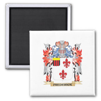 Frederick Coat of Arms - Family Crest Square Magnet