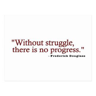 Frederick Douglas Quote Postcard