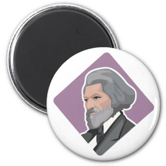 Frederick Douglass 2 Inch Round Magnet