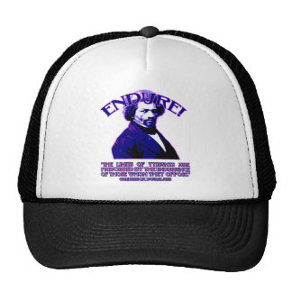 Frederick Douglass Quote: The Limits of Tyrants Trucker Hats