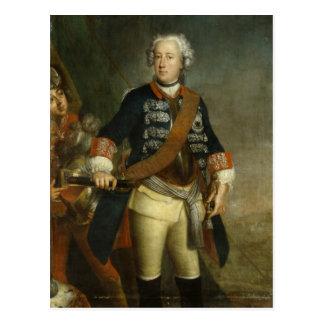 Frederick II as King Postcard