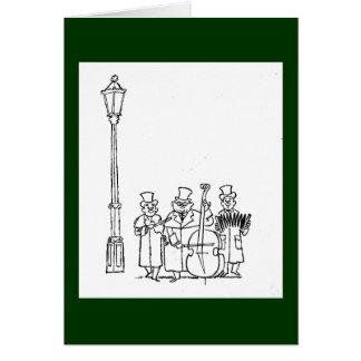 Frederick & Nelson Strolling Minstrels Card