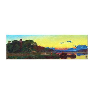 Frederick Sandys Whitlingham, Norfolk Canvas Print