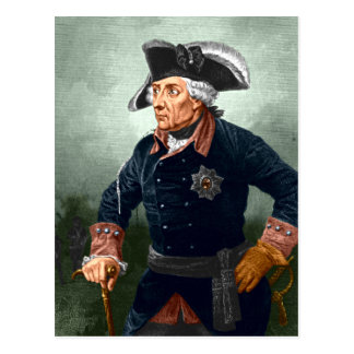 Frederick the Great Postcard