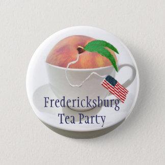 Fredericksburg Tea Party 2 Inch Round Button