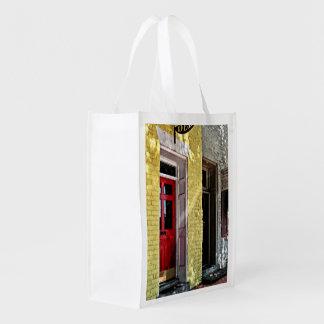 Fredericksburg VA - Deli and Gift Shop Reusable Grocery Bag