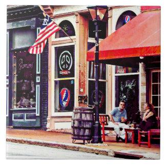 Fredericksburg VA - Outdoor Cafe Tile