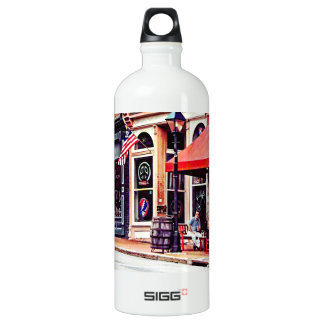 Fredericksburg VA - Outdoor Cafe Water Bottle