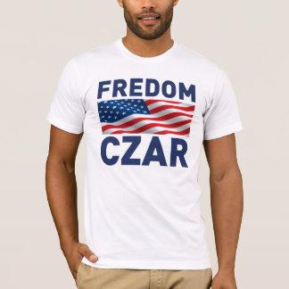 """Fredom Czar """"Anti-Obama"""" (Satire) T-Shirt"""