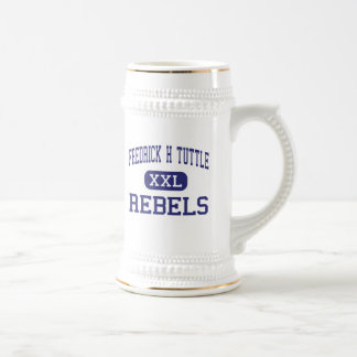 Fredrick H Tuttle Rebels South Burlington 18 Oz Beer Stein