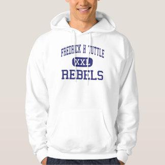 Fredrick H Tuttle Rebels South Burlington Hooded Pullover