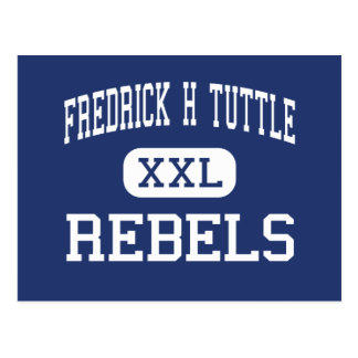 Fredrick H Tuttle Rebels South Burlington Postcard