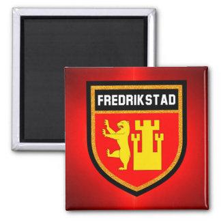 Fredrikstad Flag Magnet