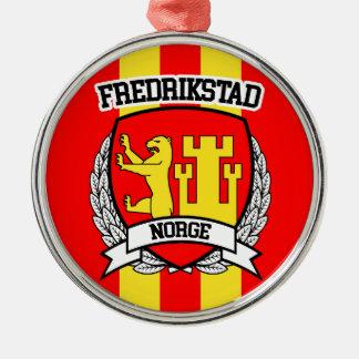Fredrikstad Metal Ornament