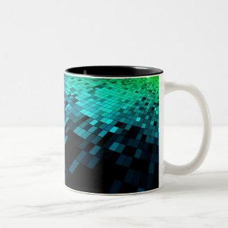 Free-Abstract-Background-Vector-Art ABSTRACT RANDO Two-Tone Mug