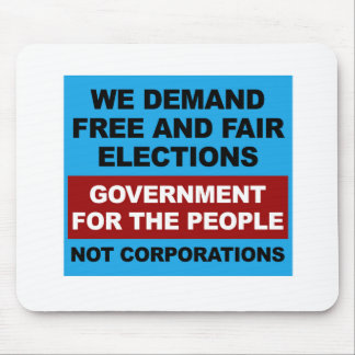 Free and Fair Elections Mouse Pad