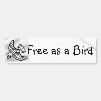 Free as a Bird Bumper Sticker