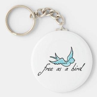 Free as a Bird Keychain