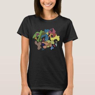 Free as a Bird Pigeon Art Pattern T-Shirt