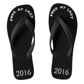 FREE AT LAST Flip Flops