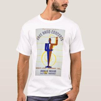 Free Band Concerts 1941 WPA T-Shirt