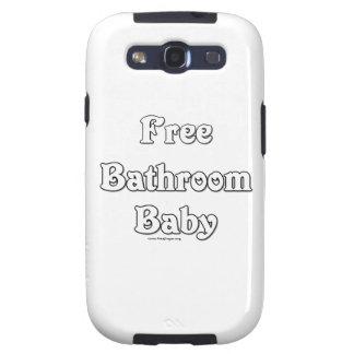 Free Bathroom Baby Galaxy SIII Cases