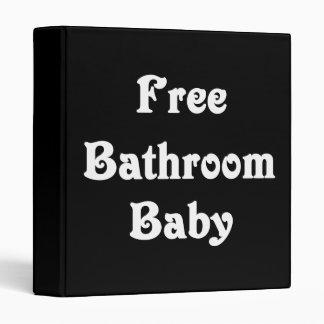 Free Bathroom Baby Vinyl Binder