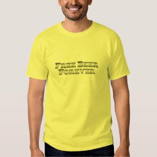Free Beer Forever - Basic T Shirt