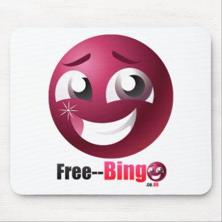 Free Bingo Mascot & Logo Mouse Pad