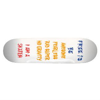 FREE BOARD SKATE BOARD DECK
