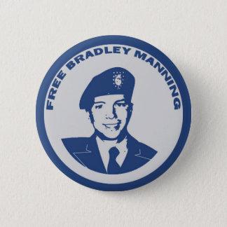FREE Bradley Manning 2 Inch Round Button