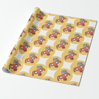 Free Bunny Hugs Wrapping Paper