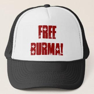 FREE BURMA! TRUCKER HAT